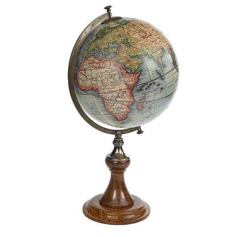 "18th Century ""New World"" Replica Globe"