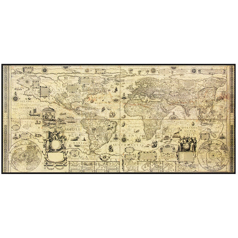16th Century Replica Map of the Known World