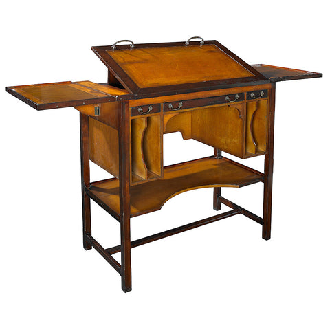 Vintage Style Architect Desk, Tall