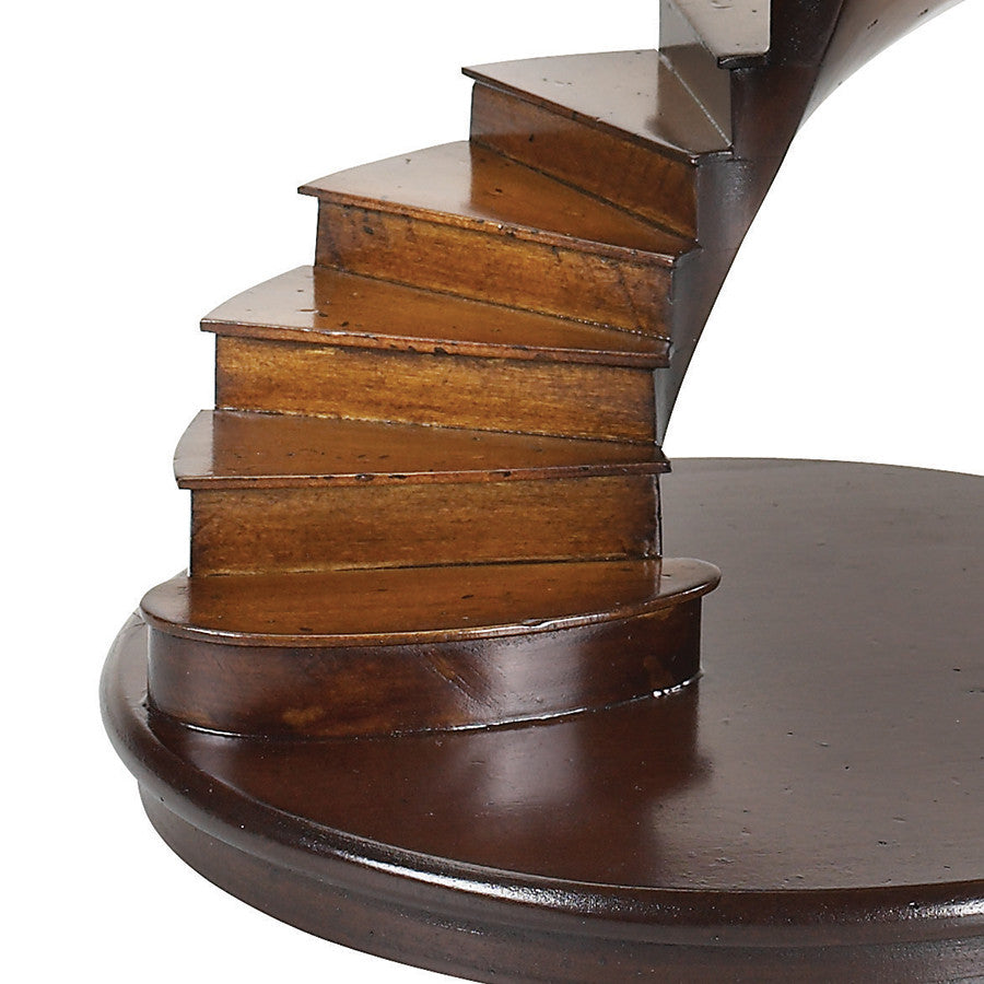 Cherry Spiral Staircase Model