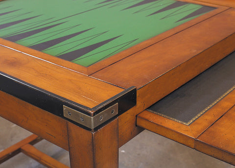 Honey & Brass Game Table