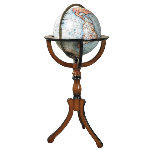 Classic Library Globe with Floor Stand