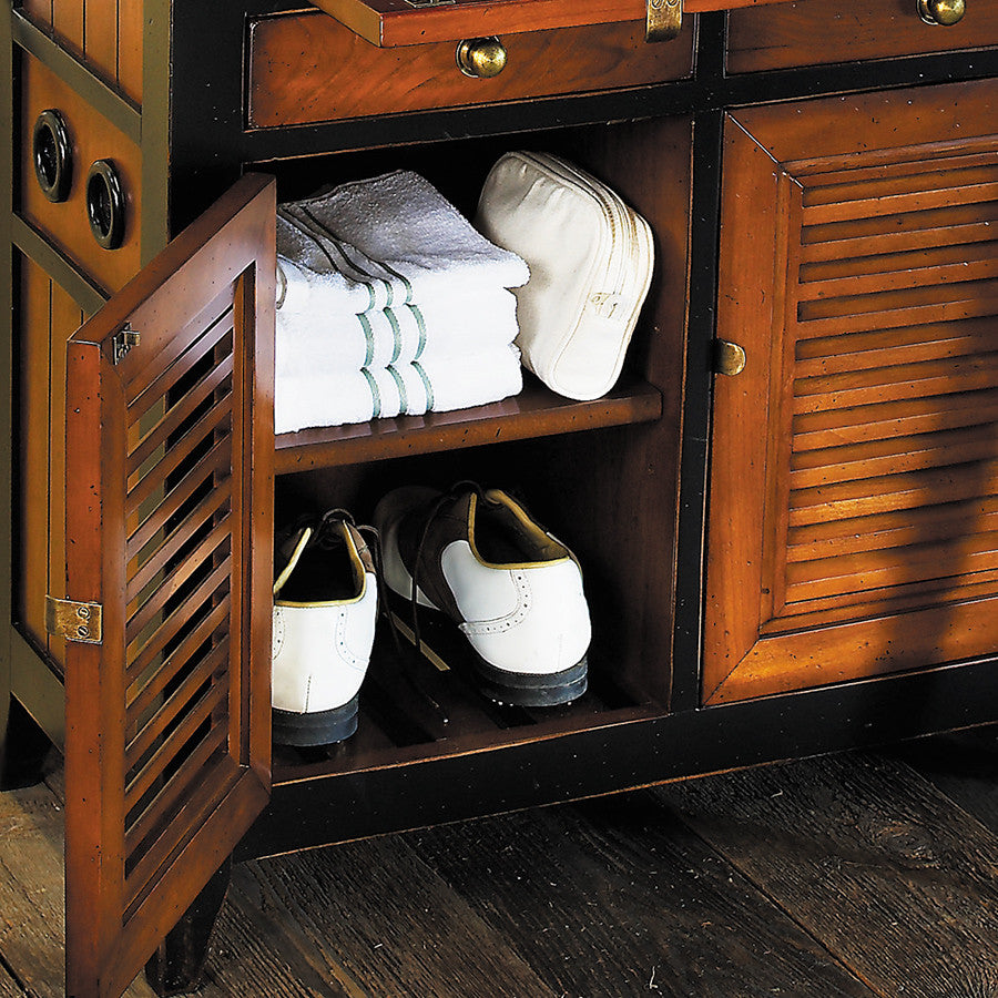 1950s Beach House Storage Console