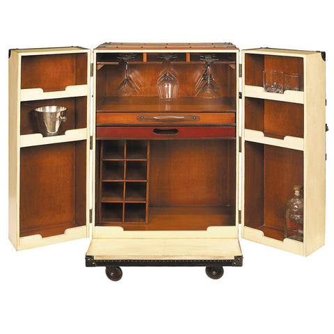 """Well-Prepared Traveler"" Steamer Trunk Bar"