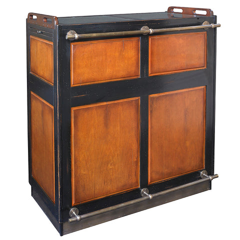 Black & Honey Portable Bar