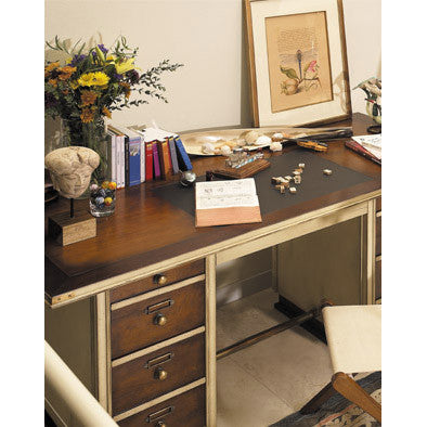 Seafarer's Small Desk, Honey & Ivory