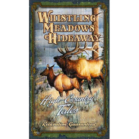 Whistling Meadows - Vintage Sign