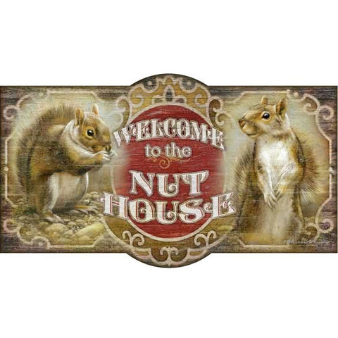 The Nut House - Vintage Sign