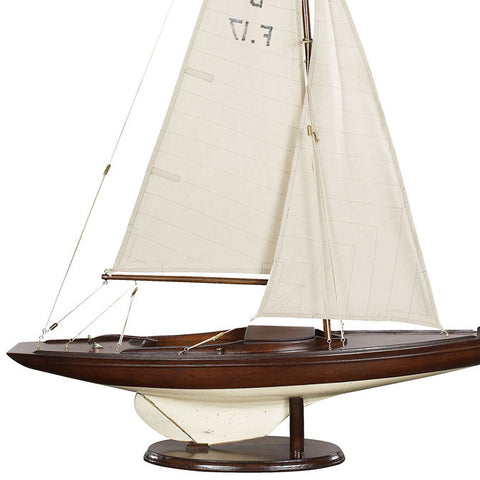 1930s Olympic Sailboat
