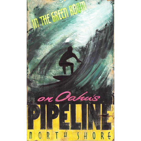 North Shore Surfer - Vintage Sign