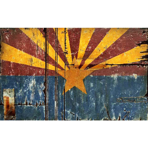 Arizona Flag - Vintage Sign