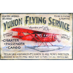 Yukon Flying Service - Vintage Sign