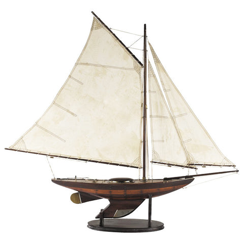 """Ironsides"" Yacht Model, Large"