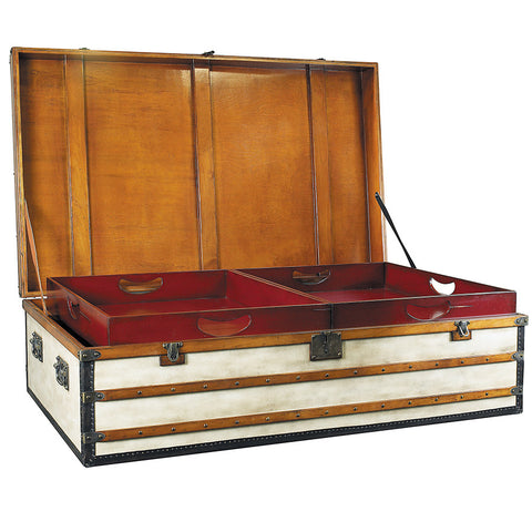 Steamer Trunk Coffee Table, Large