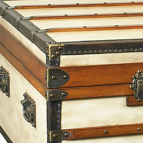 Steamer Trunk Coffee Table, Small