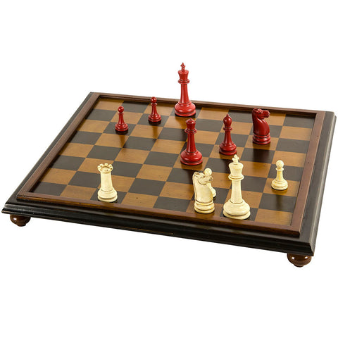 Vintage-Style Chess Board