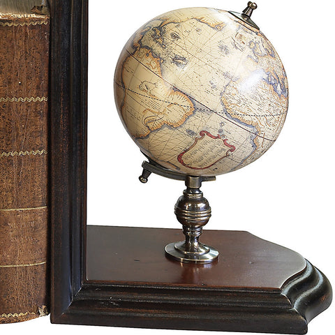 """Continents and Constellations"" Globe Bookends"