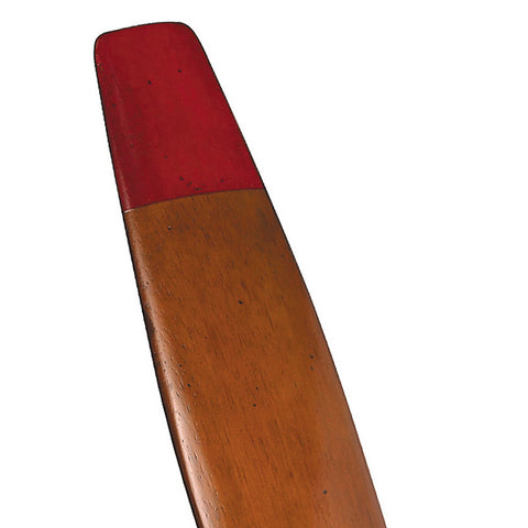 Red Tipped Wood Airplane Propeller, Small