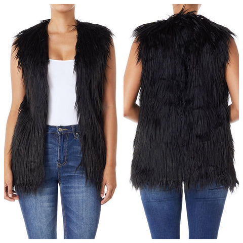 Autry Faux Fur Vest