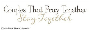 1000 - Couples That Pray Together Stay