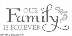 1001 - Our Family is Forever