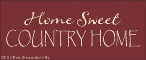 1073 - Home Sweet Country Home