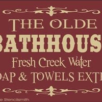 1082 - The Olde Bathhouse