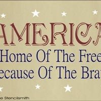 1114 - AMERICA home of the free