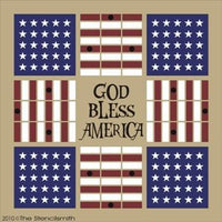 1151 - God Bless America Parcheesi