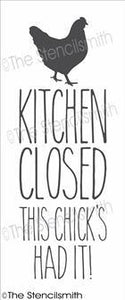 1157 - Kitchen Closed