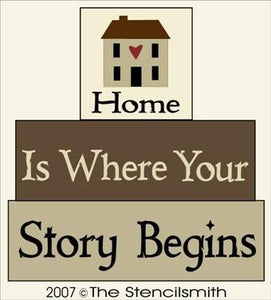 1161 - Home is where your story begins - BLOCKS