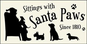 122 - Sittings with Santa Paws - DOGS