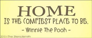 1242 - HOME is the comfiest place to be - Pooh
