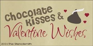 1258 - Chocolate Kisses & Valentine Wishes