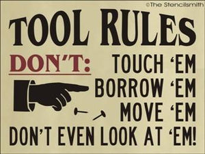 1274 - TOOL RULES
