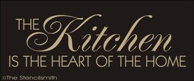 1279 The Kitchen Is Heart Of Home Stencilsmith