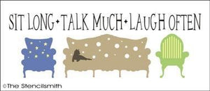 1288 - Sit Long Talk Much Laugh Often
