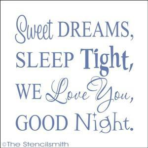 1319 - Sweet Dreams Sleep Tight