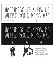 1328 - Happiness is knowing where your keys are