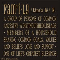 1329 - FAMILY definition