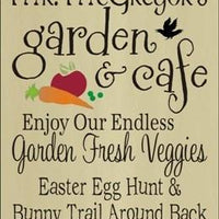 1363 - Mr. McGreggor's Garden & Cafe