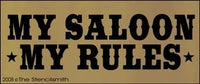 My Saloon My Rules