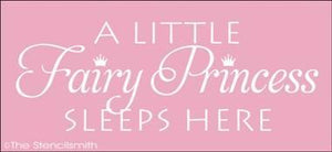 1380 - A little Fairy Princess sleeps here