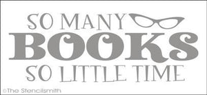 1382 - So many BOOKS so little time