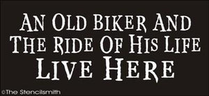 1422 - An old biker and the ride of his life live here