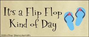 It's a Flip Flop Kind of a Day
