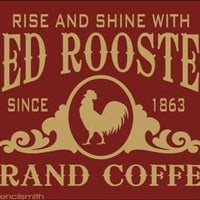 1496 - Red Rooster Brand Coffee