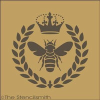 1506 - Royal Bee Wreath