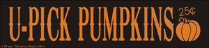 1520 - U-PICK PUMPKINS