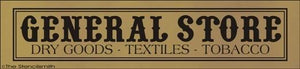 1524 - GENERAL STORE dry goods textiles tobacco